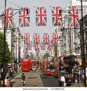stock-photo-london-may-oxford-street-in-london-decorated-with-union-jack-flags-to-celebrate-the-queen-s-104880140