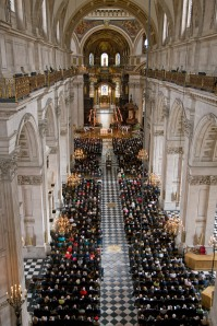 Operation Banner Service Held at St Pauls Cathedral in 2008
