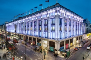 selfridges_london_east_night