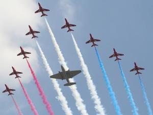 RAF-flyover